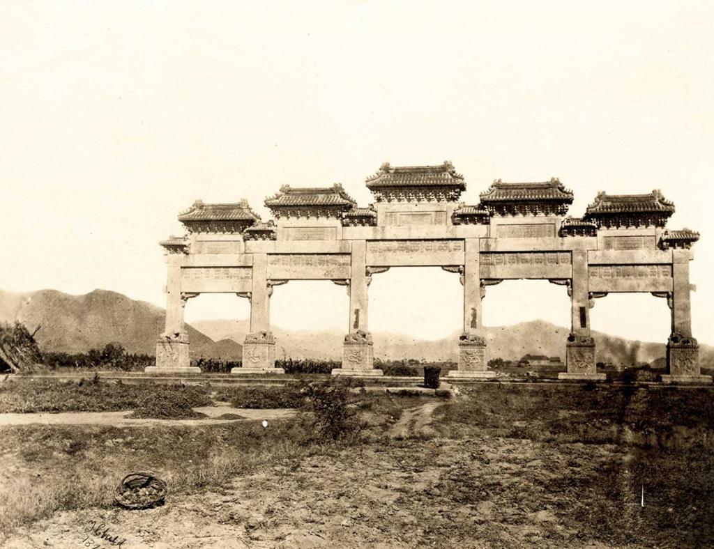 Những bức ảnh quý giá hiếm hoi về triều đại cuối cùng của Trung Quốc thế kỷ 19. 16