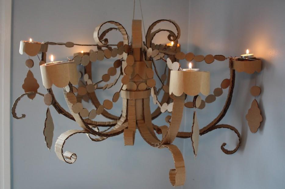 10 cardboard chandelier1