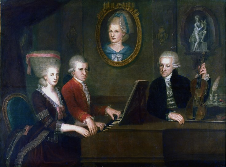 interesting fact about mozart