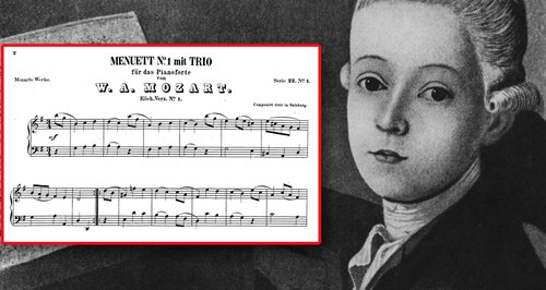 mozarts first composition 1471517689 large article 0