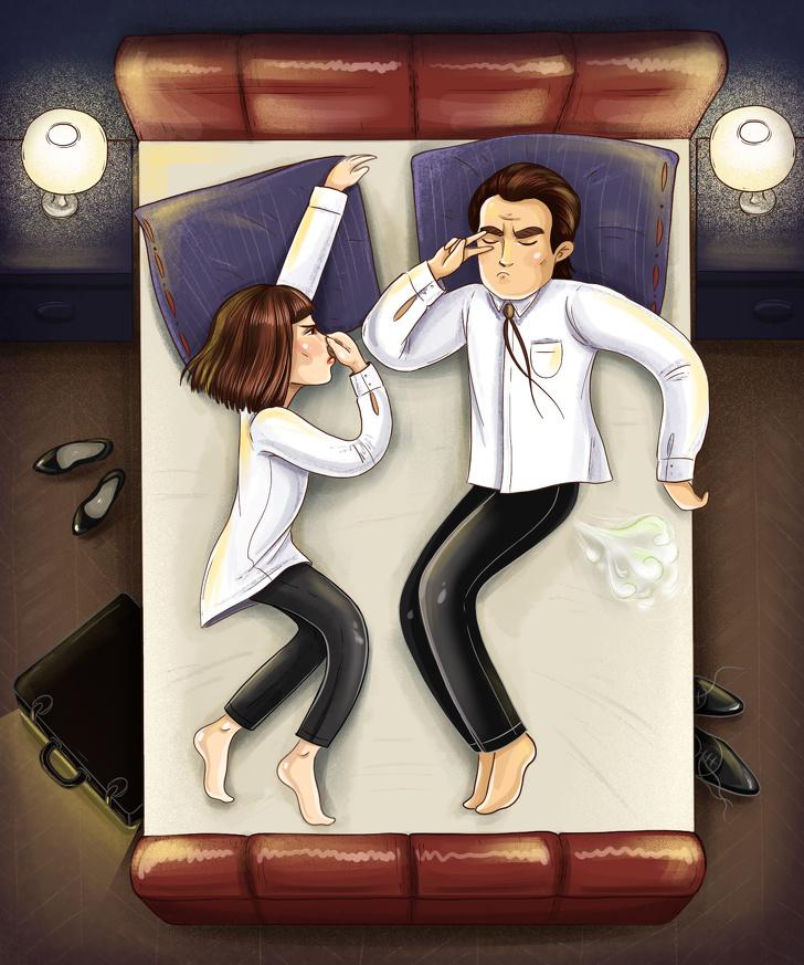14 tư thế ngủ của những couple sẽ tiết lộ chuyện tình yêu của họ