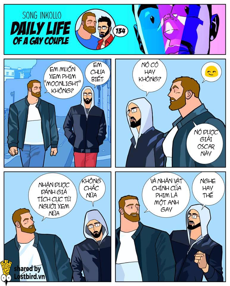 Truyện tranh: Cuộc sống thường nhật của một cặp gay có gì thú vị?