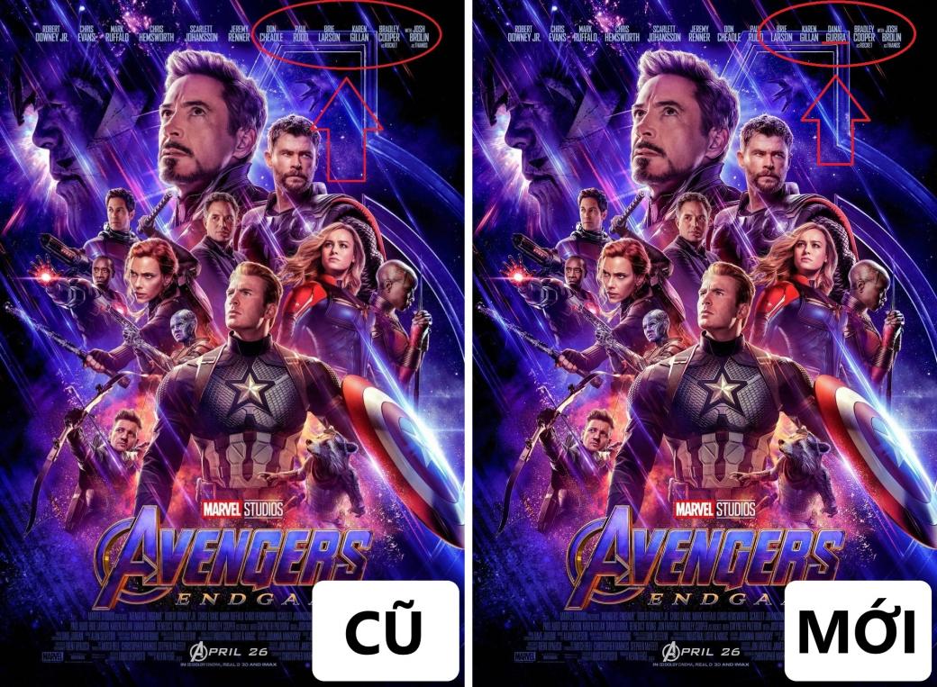 Marvel bị chỉ trích 'phân biệt sắc tộc' khi quên đề tên Danai Gurira trên poster 'Avengers: Endgame'