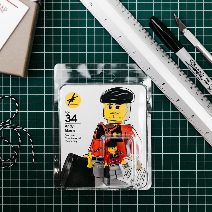 Làm CV bằng Lego 'đốn tim' các nhà tuyển dụng