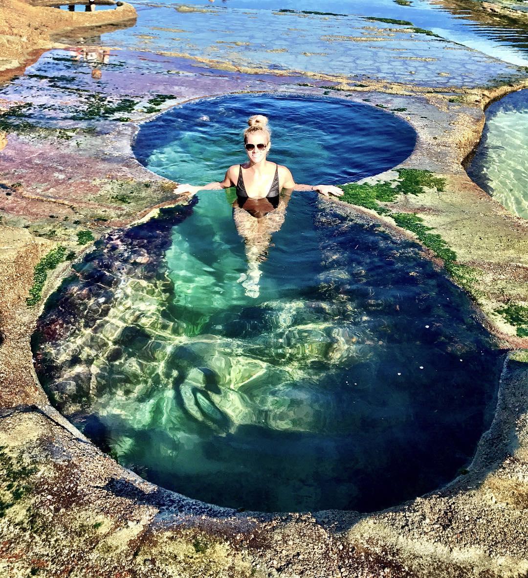 Những hồ bơi thiên nhiên đẹp không tưởng