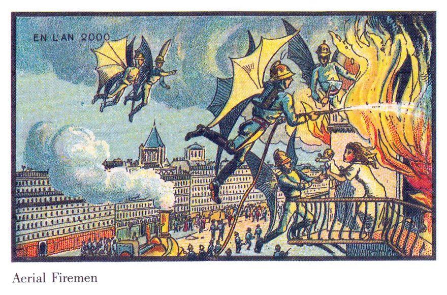 100 năm trước, người xưa nghĩ gì về tương lai?