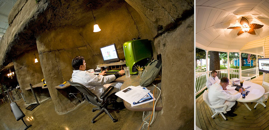 Đưa ngay bài này cho sếp: 8 văn phòng làm việc đẹp không thể tin nổi