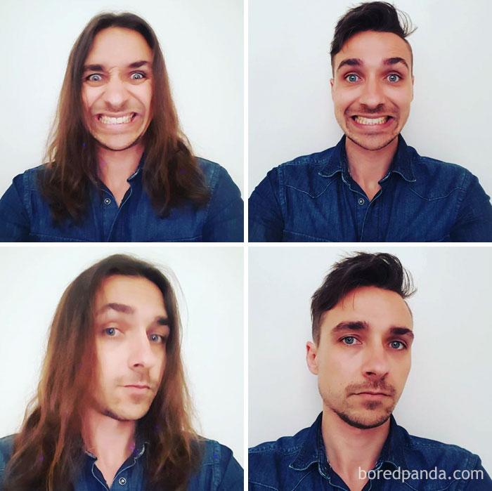 Thực tế chứng minh bạn sẽ trông đẹp trai 1000% sau khi... cắt tóc