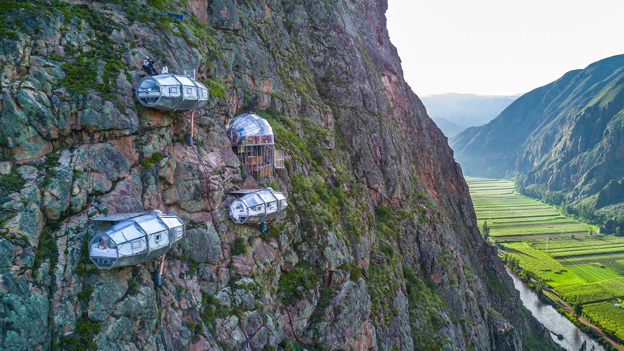 Bốn 'khách sạn ngàn sao' hấp dẫn nhất quả đất