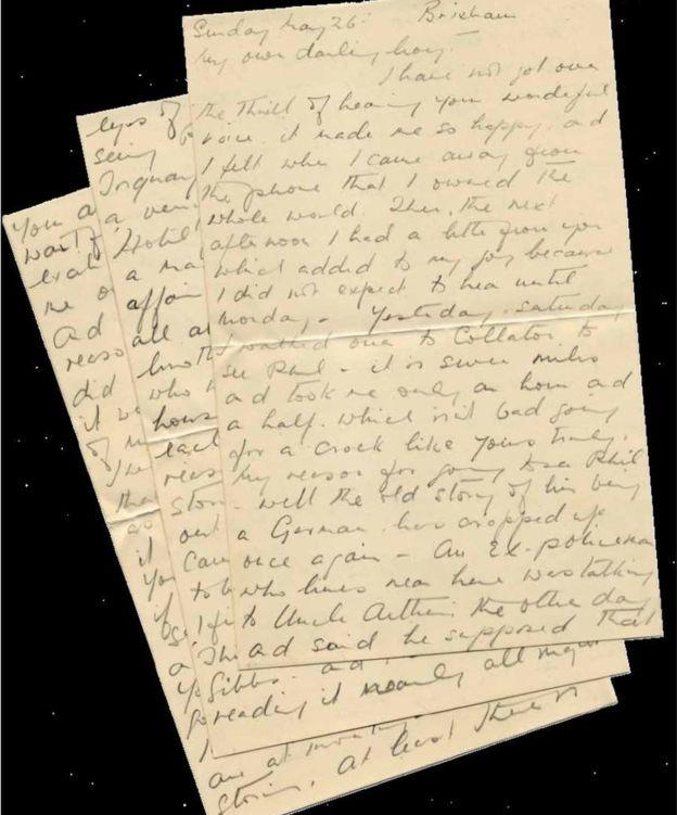 Những bức thư tình giữa... hai người đàn ông trong Thế chiến thứ 2