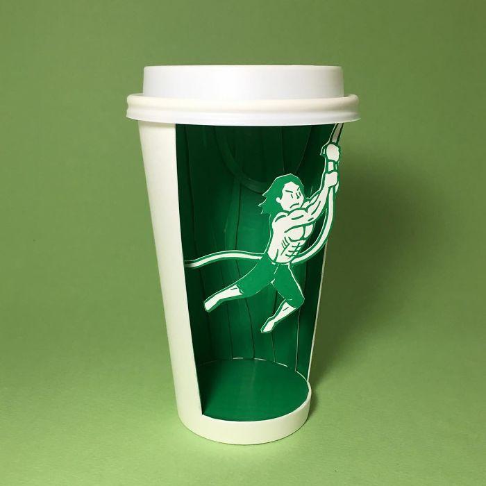 Những chiếc ly Starbucks xứng tầm 'tác phẩm nghệ thuật'
