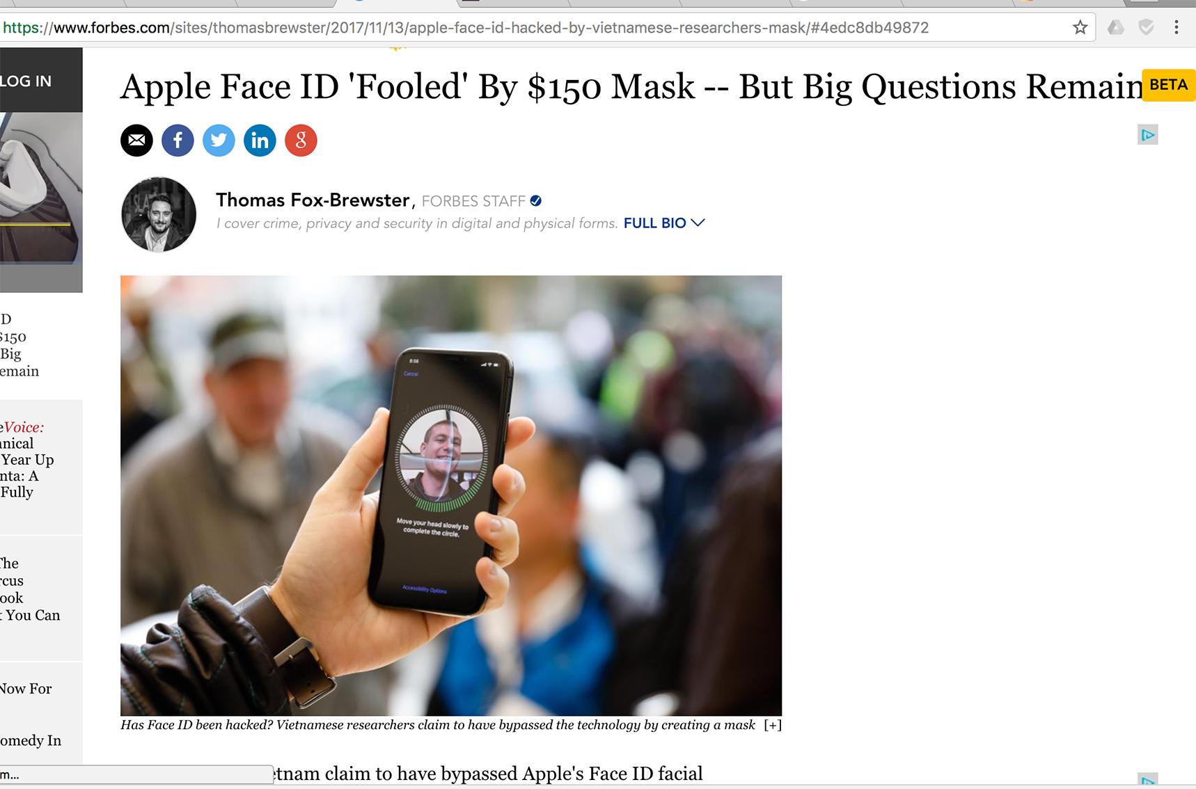Bkav qua mặt Face ID: Báo ngoại tung hô, trong nước chỉ trích