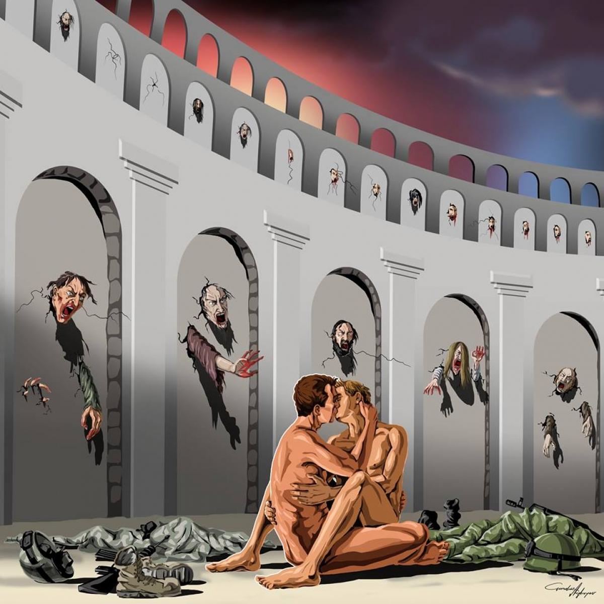 'Nỗi ô nhục nhân loại' qua góc nhìn nghệ sĩ