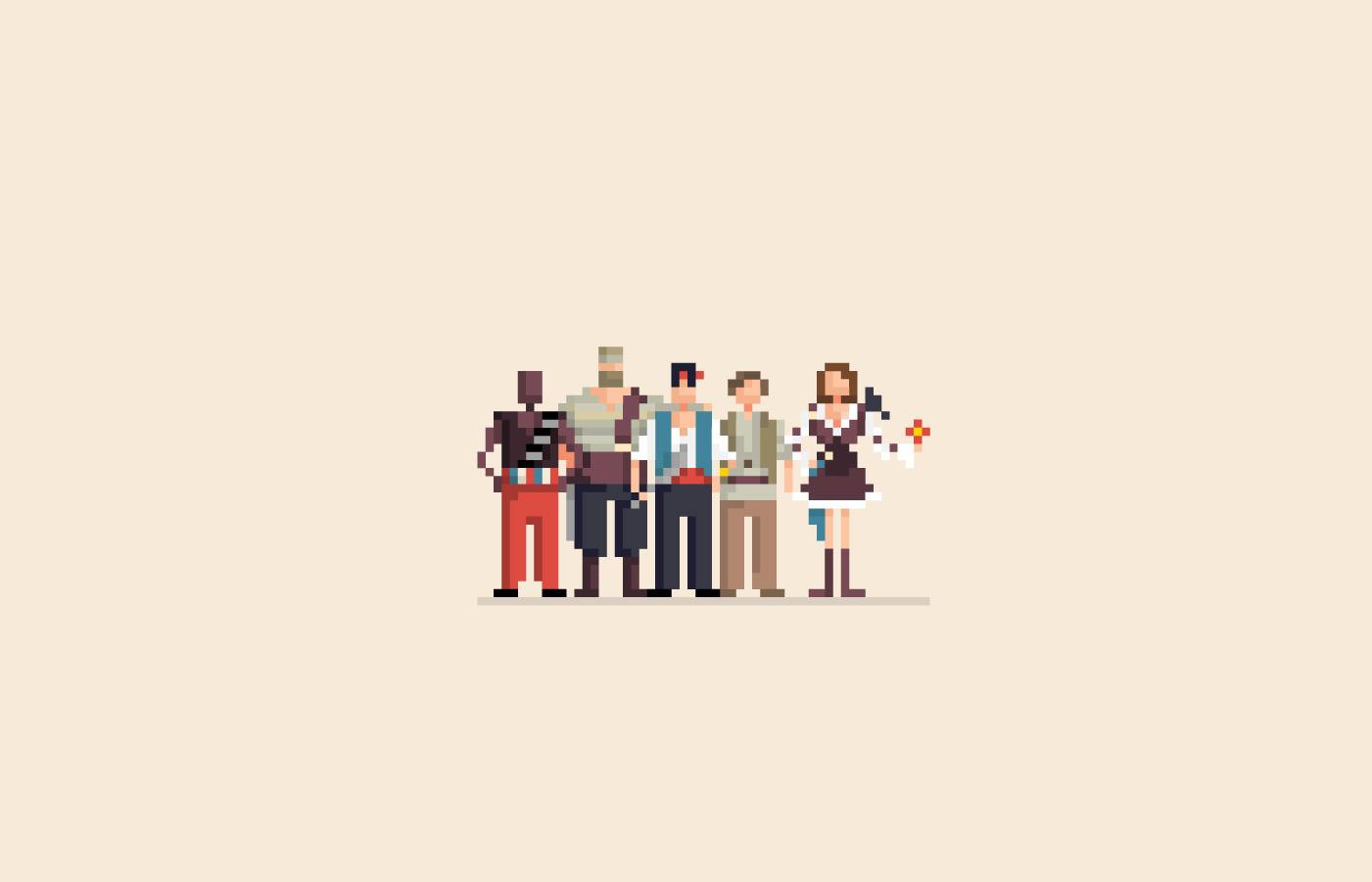 Thử đoán tên phim khi được vẽ lại bằng hình pixel?