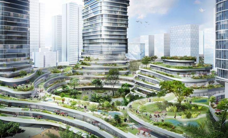 Tiết lộ về 'khu rừng trên mây' 88 tầng sắp xuất hiện giữa Sài Gòn