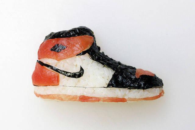 Shoe-shi - Món sushi dành cho những tín đồ mê giày thể thao