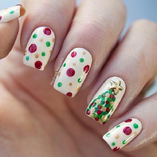 Những mẫu nail con gái nhất định phải thử khi Giáng sinh đang 'gõ cửa'