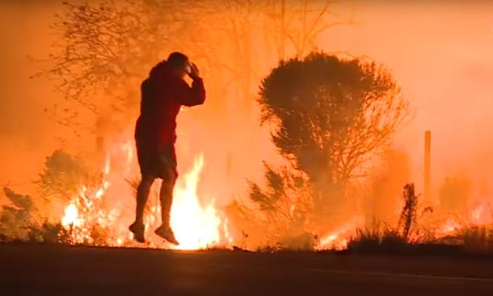 Anh hùng cứu sống chú thỏ trong trận cháy rừng thầm lặng biến mất không cần sự ngợi ca