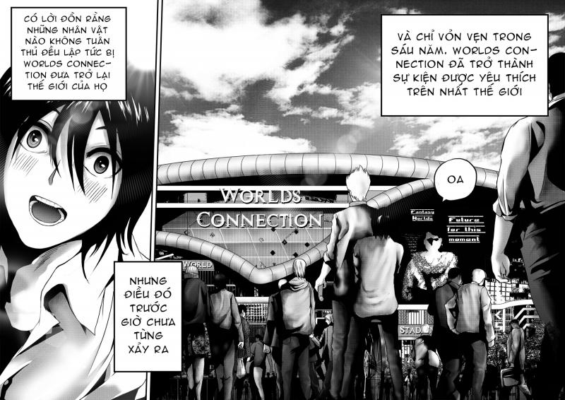 Cả thế giới truyện tranh Đông - Tây thu bé lại vừa bằng... bộ 'Worlds Connection'