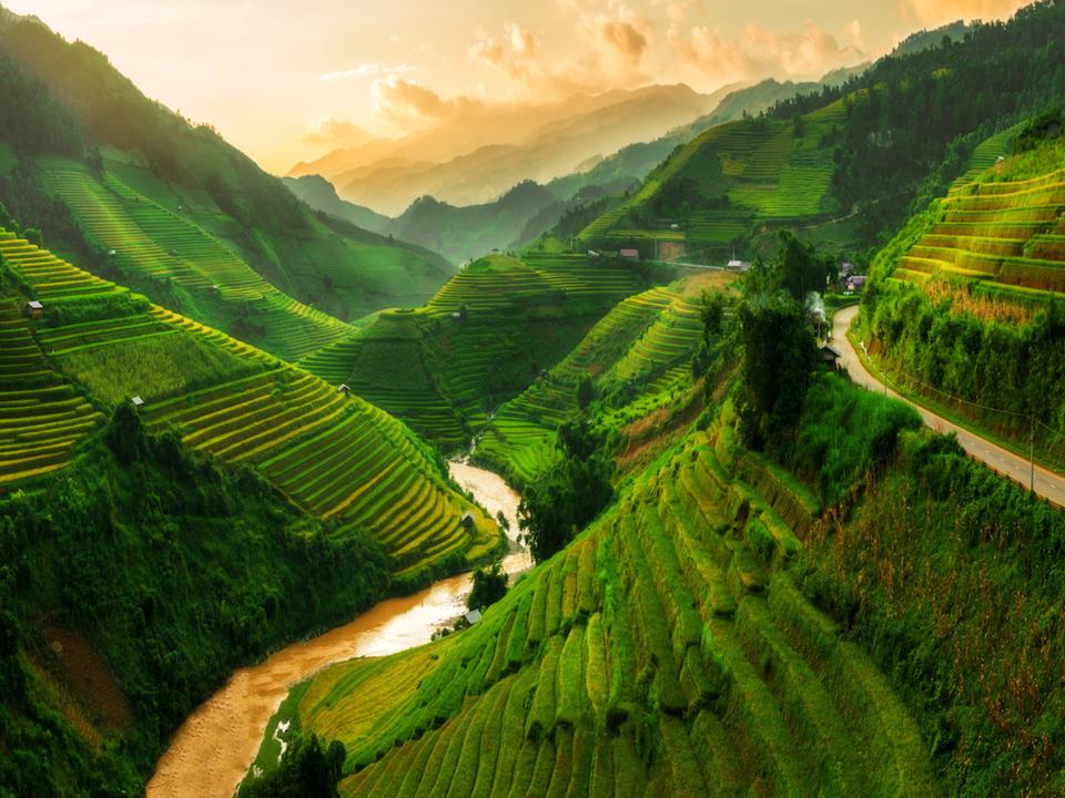 Mù Cang Chải nằm trong danh sách những ngọn núi đẹp nhất thế giới