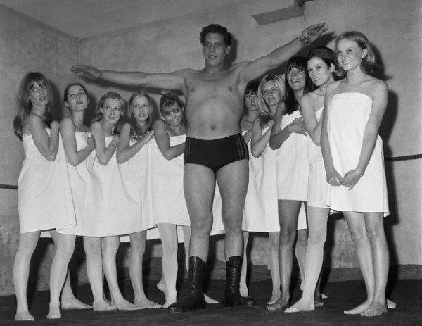 Gã khổng lồ André và những khoảnh khắc đáng nhớ