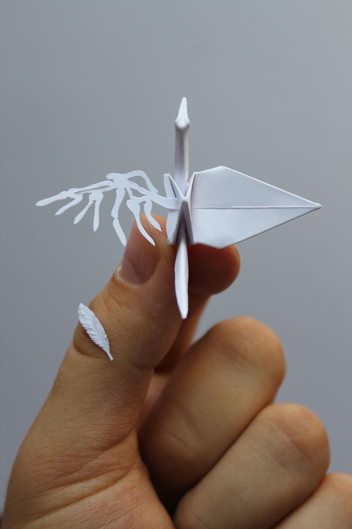 Gấp 1000 hạc giấy là chuyện thường, nhưng nếu là 1000 con hạc khác nhau thì sao?