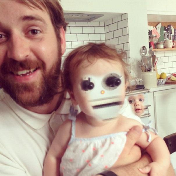 'Ác mộng' không ở đâu xa, khi mà bạn Face Swap với trẻ con thất bại