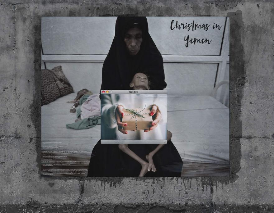 Giáng sinh ở Yemen: Tất cả chỉ giống như ảo ảnh của 'Cô bé bán diêm'