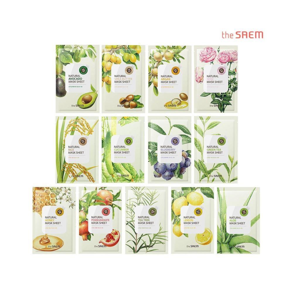 10 loại mặt nạ giấy đang được phái đẹp Hàn Quốc tin dùng