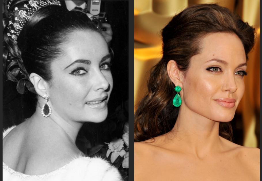 Angelina Jolie: Biểu đồ cuộc đời trùng hợp khó tin với minh tinh Elizabeth Taylor