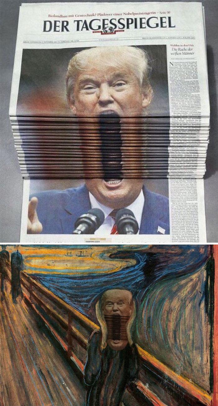 Bạn phải thật hài hước để có thể chiến thắng cuộc thi 'thánh Photoshop' này