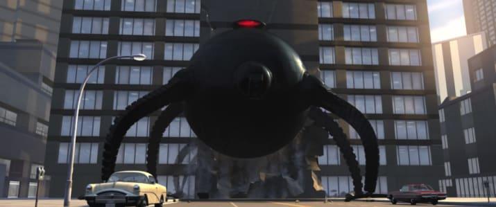 The Incredibles (Gia đình siêu nhân) phần đầu tiên lấy bối cảnh năm nào?