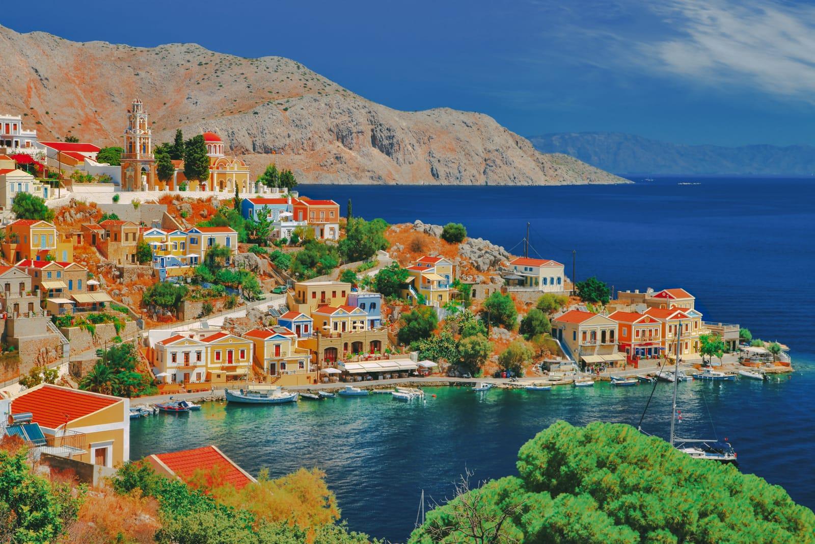 'Địa đàng' Hy Lạp cho các cặp tình nhân lãng mạn và sang chảnh