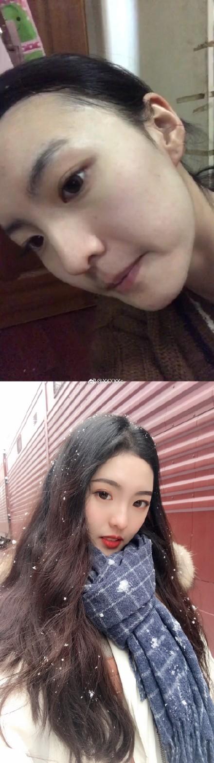 Loạt ảnh trước và sau khi ra đường của chị em khiến các anh mất hết niềm tin vào cuộc sống