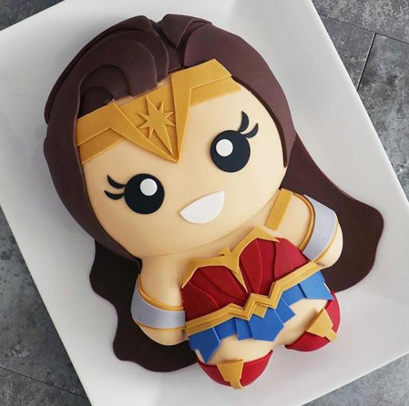 Phiên bản bánh kem 'yêu chẳng nỡ ăn' của các siêu anh hùng