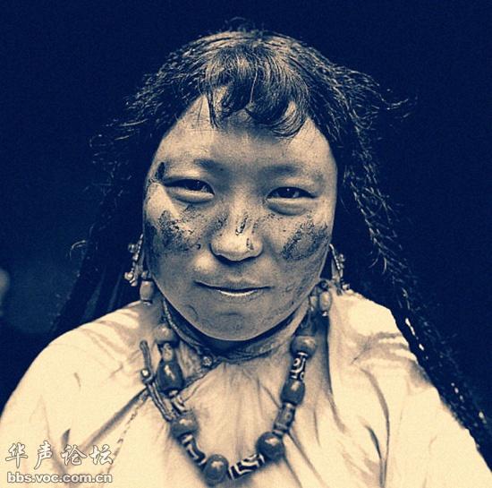Bất ngờ với nét đẹp nguyên sơ của thiếu nữ Tây Tạng