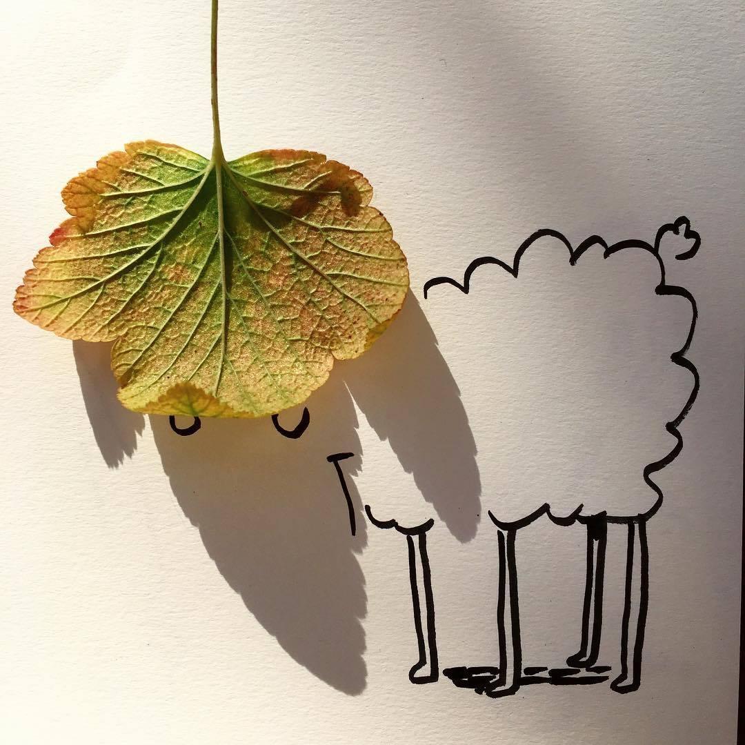 Khi cái bóng cũng có thể trở thành chất liệu nghệ thuật