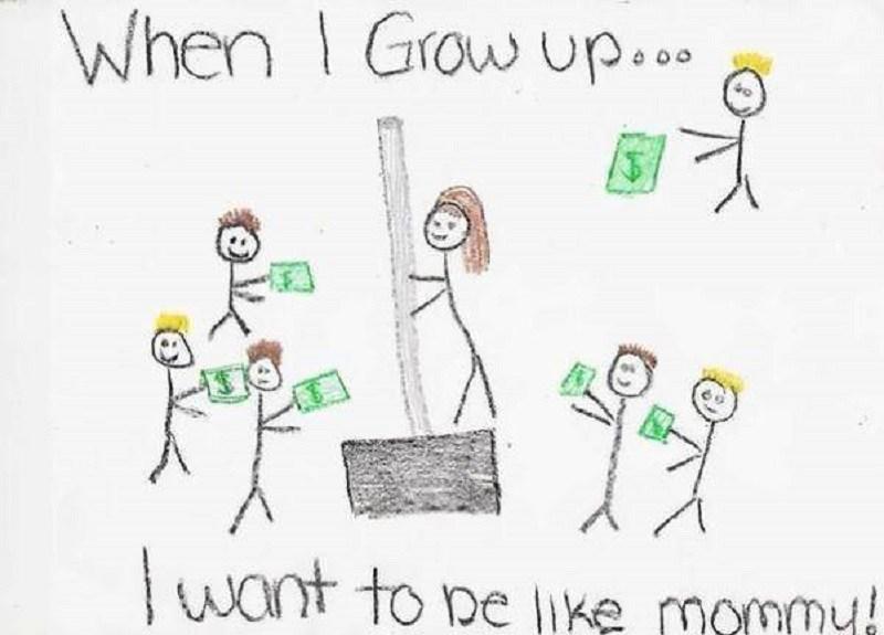 Cuộc sống đời thường chân thực của phụ huynh qua nét vẽ con trẻ