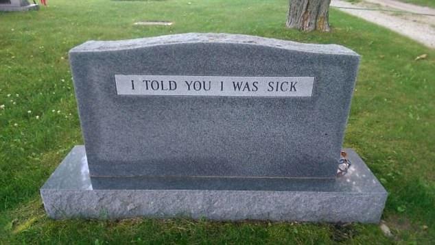 Bạn vẫn có thể chọc mọi người cười ngay cả khi đã... chết