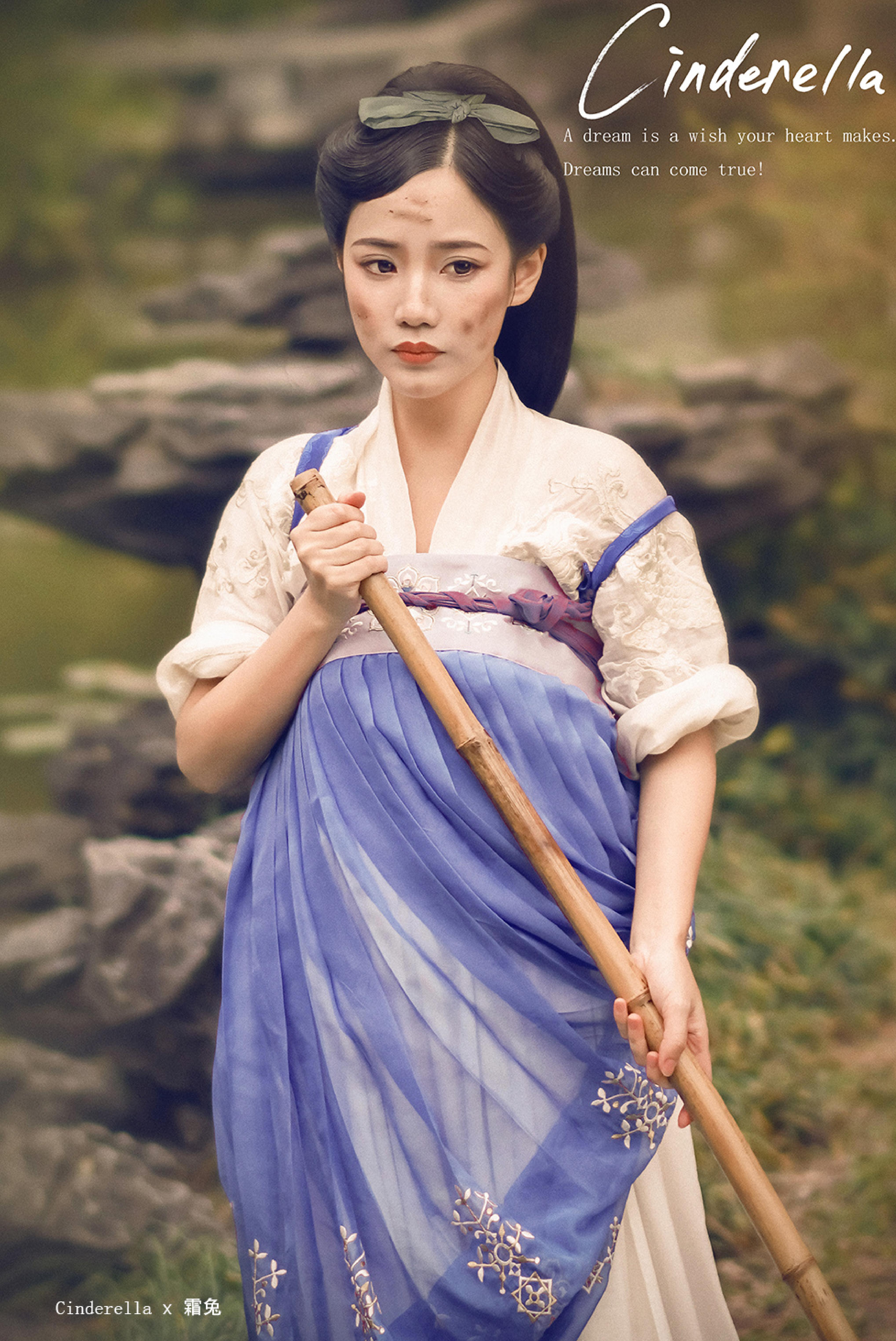 Nếu Lọ Lem, Bạch Tuyết... đi đóng phim cổ trang Trung Quốc thì sẽ như thế này đây