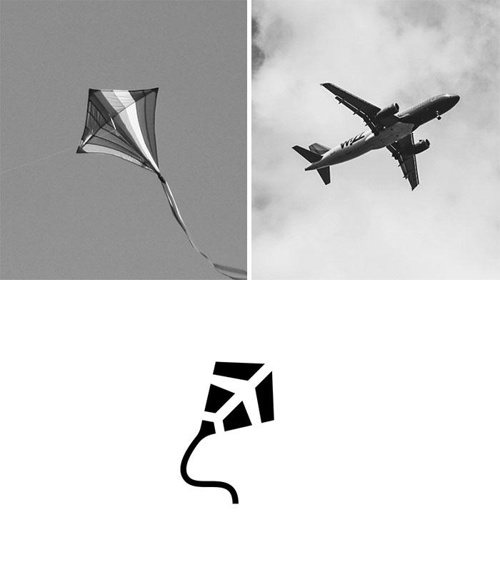 Logo 2 trong 1 tối giản nhưng vẫn đầy đủ ý nghĩa