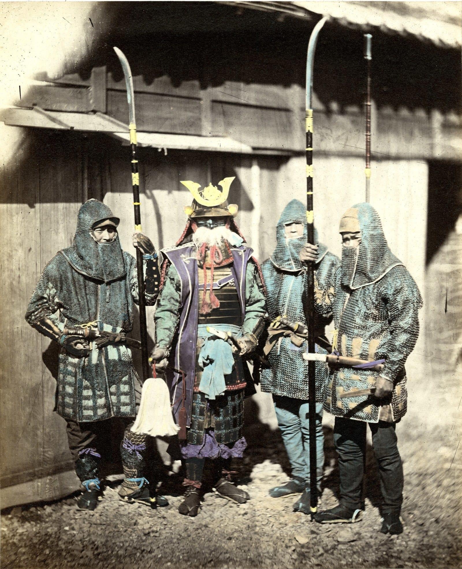 Ảnh hiếm về những huyền thoại Samurai cuối cùng của Nhật Bản