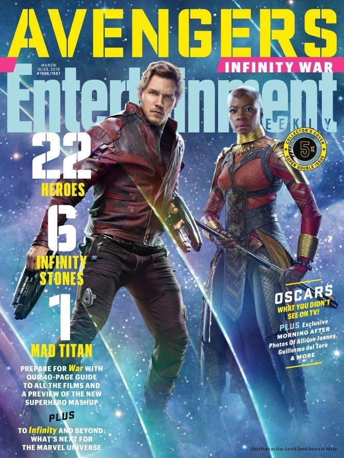 Dân tình rần rần hết cả lên vì loạt ảnh mới toe từ bom tấn 'Avengers: Infinity War'