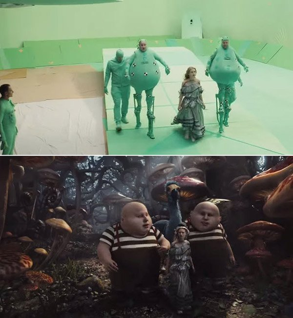 14 cảnh phim bom tấn Hollywood trước và sau khi được xử lý bằng công nghệ CGI