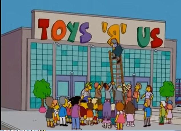 'The Simpson' lại tiên tri chính xác sự kiện cửa hàngToys R Us tuyên bố đóng cửa