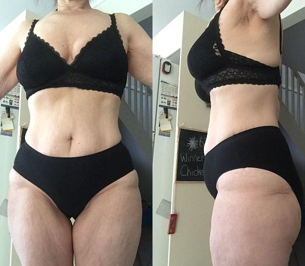 Bà ngoại U50 giảm hơn 31kg mà không cần tập thể dục