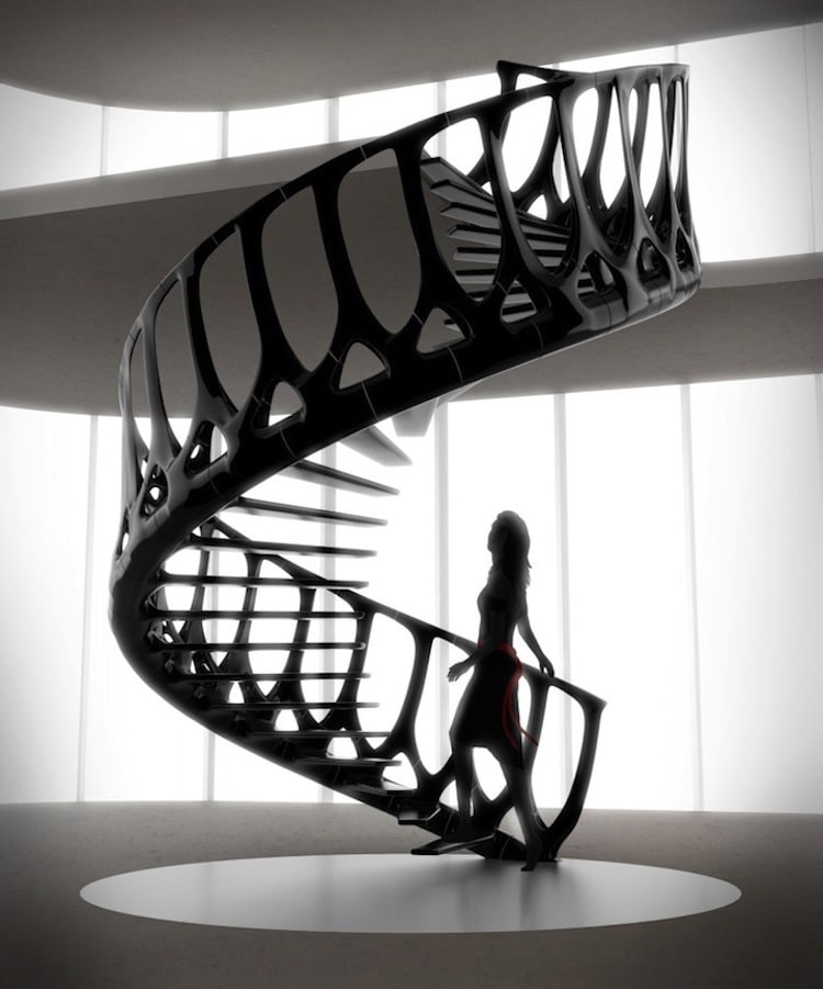 25+ thiết kế cầu thang phá cách dành riêng cho không gian hiện đại