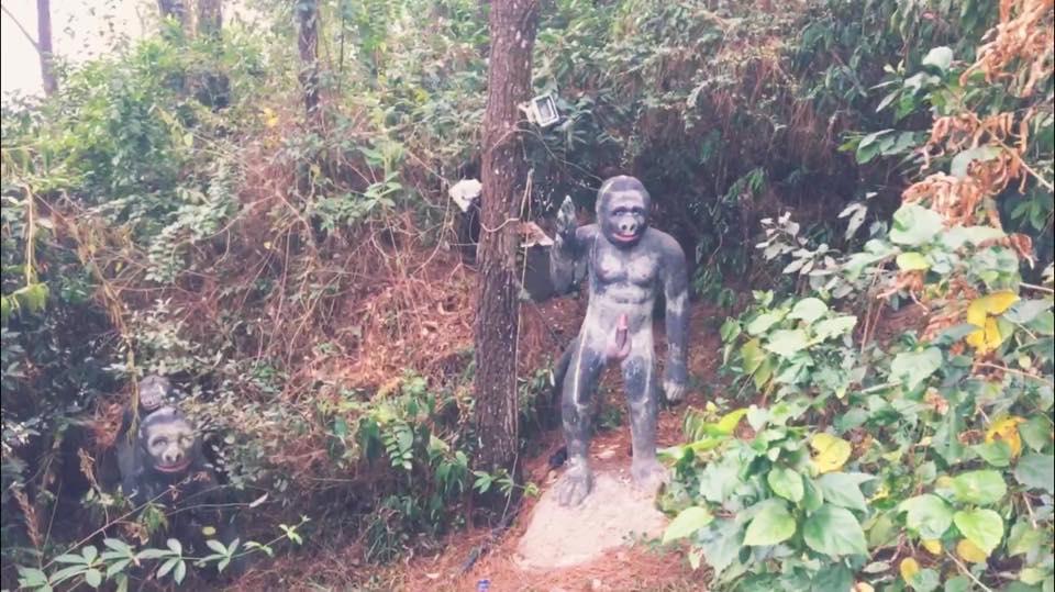 'Nóng bỏng mắt' trước vườn tượng 12 con giáp khoả thân tại Hải Phòng