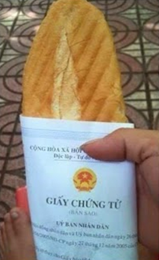 Chúc bạn ngon miệng với loạt giấy gói bánh mì nhìn thôi đã muốn... nghẹn