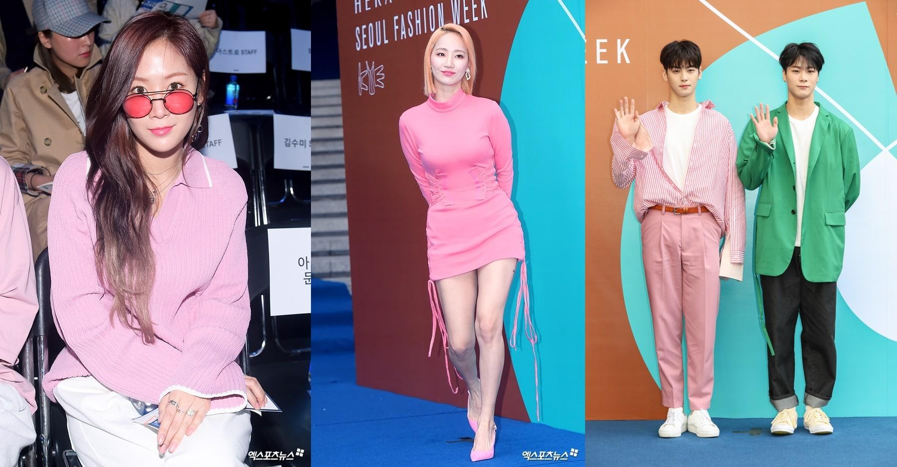 Xu hướng thời trang được các sao lăng xê trong Hera Seoul Fashion Week 2018 là gì?